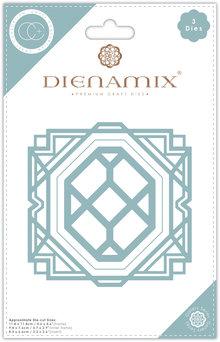 Craft Consortium Deco Square Dies (CCDMX008)