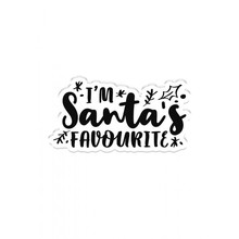 Crafter's Companion Santa's Favourite Clear Stamp (CC-CA-ST-SAF)