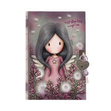 Gorjuss Lockable Journal With Heart Shaped Lock Little Wings (815GJ06)