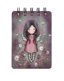 Gorjuss Mini Wiro-Bound Notebook Little Wings (598GJ17)