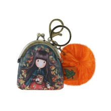 Gorjuss Keyring Clasp Purse Autumn Leaves (919GJ04)