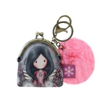 Gorjuss Keyring Clasp Purse Little Wings (919GJ05)