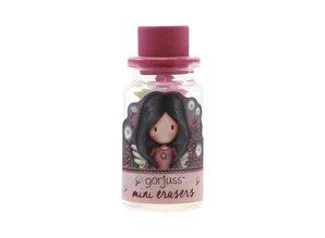 Gorjuss Mini Erasers In Glass Bottle Little Wings (590GJD02)