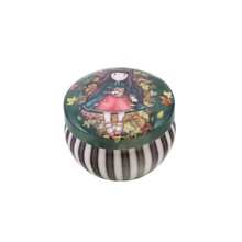 Gorjuss Mini Trinket Tin Autumn Leaves (898GJ04)
