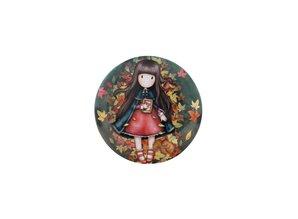 Gorjuss Mini Trinket Tin Autumn Leaves (898GJ04)