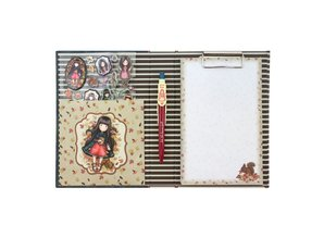 Gorjuss Clip Pad Stationery Set Autumn Leaves (702GJ05)