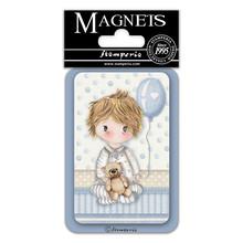 Stamperia Little Boy Balloon 8x5.5cm Magnet (EMAG042)