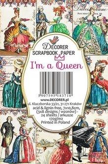 Decorer I'm a Queen Paper Pack (7x10,8cm) (DECOR-M75)