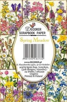 Decorer Spring Meadow Paper Pack  (7x10,8cm) (DECOR-M77)