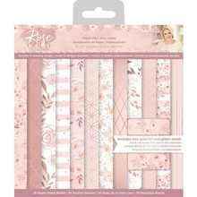 Crafter's Companion Rose Gold 6 x6 Inch Paper Pad (S-RG-PAD6)