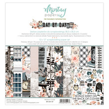 Mintay Day By Day 12x12 Inch Scrapbooking Paper Set (MT-DAY-07)