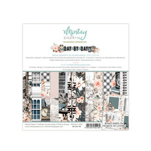Mintay Day By Day 6x6 Inch Scrapbooking Paper Pad (MT-DAY-08)