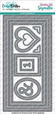 CarlijnDesign Snijmal DL Slimline Kaart (CDSN-0057)