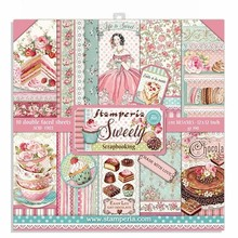 Stamperia Sweety 12x12 Inch Paper Pack (SBBL78)