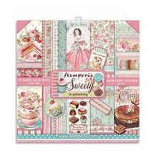 Stamperia Sweety 8x8 Inch Paper Pack (SBBS21)