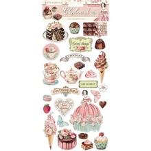 Stamperia Chipboard Sweety (DFLCB11)