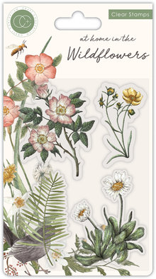 Craft Consortium At Home in the Wildflowers Flora Clear Stamps (CCSTMP036)