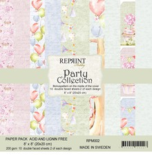 Reprint Party 8x8 Inch Paper Pack (RPM002)