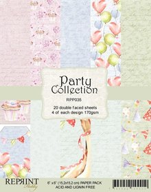 Reprint Party 6x6 Inch Paper Pack (RPP035)
