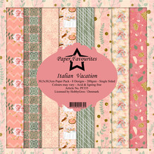 Paper Favourites Italian Vacation 6x6 Inch Paper Pack (PF135)