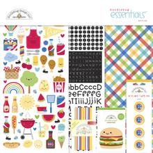 Doodlebug Design Inc. Bar-b-cute Essentials Kit (6915)