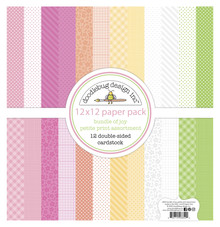 Doodlebug Design Inc. Bundle of Joy 12x12 Inch Petite Print Paper Pack (6852)