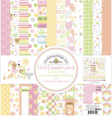Doodlebug Design Inc. Bundle of Joy 12x12 Inch Paper Pack (6849)