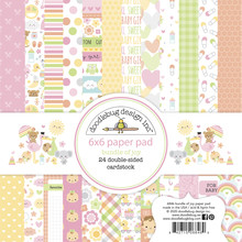 Doodlebug Design Inc. Bundle of Joy 6x6 Inch Paper Pad (6846)