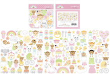 Doodlebug Design Inc. Bundle of Joy Odds & Ends (132pcs) (6804)