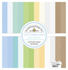 Doodlebug Design Inc. Special Delivery 12x12 Inch Petite Print Paper Pack (6853)