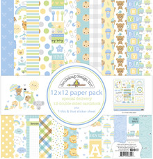 Doodlebug Design Inc. Special Delivery 12x12 Inch Paper Pack (6850)