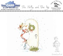 The Card Hut Snowboots: The Holly and the Ivy Clear Stamps (CCSBHI)