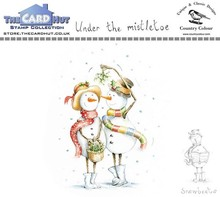 The Card Hut Snowboots: Under the Mistletoe Clear Stamps (CCSBUM)