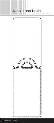 Simple and Basic Pierced Tag Metal Dies (SBD012)