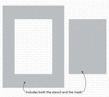 My Favorite Things Rectangle Extraordinaire Stencil (ST-132)