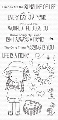 My Favorite Things Every Day Is a Picnic Clear Stamps (BB-103)