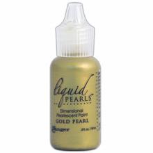 Ranger Liquid Pearls Dimensional Pearlescent Paint Gold Pearl (LPL 28130)