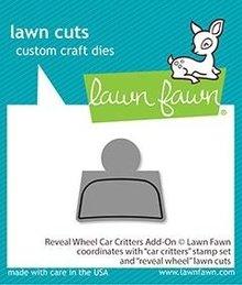 Lawn Fawn Reveal Wheel Car Critters Add-On Dies (LF2340)
