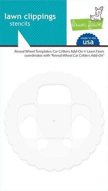 Lawn Fawn Reveal Wheel Templates: Car Critters Add-On (LF2341)