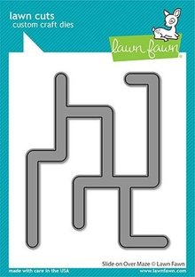Lawn Fawn Slide on Over Maze Dies (LF2360)