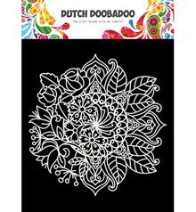 Dutch Doobadoo Mask Art A5 Mandala Met Bloem (470.715.624)