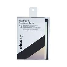 Cricut Joy Insert Cards Black/Silver Holographic (2008045)