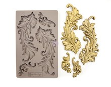 Re-Design Baroque Swirls 5x8 Inch Decor Mould (635725)