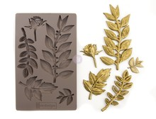 Re-Design Leafy Blossom 5x8 Inch Decor Mould (635756)