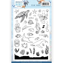 Amy Design Underwater World Clear Stamp Set (ADCS10068)
