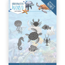 Amy Design Underwater World Ocean Animals Die (ADD10212)