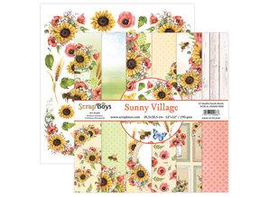 ScrapBoys Summer Village 6x6 Inch Paper Pad (SUVI-09)