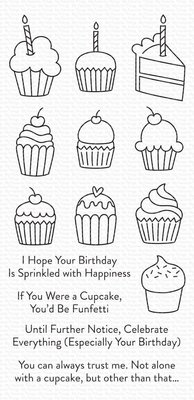 My Favorite Things All the Cupcakes Clear Stamps (CS-489)