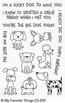 My Favorite Things Canine Companions Clear Stamps (CS-259)