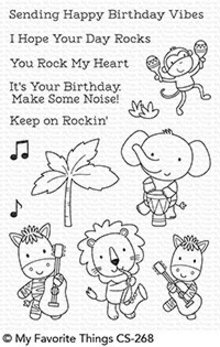 My Favorite Things Jungle Vibes Clear Stamps (CS-268)